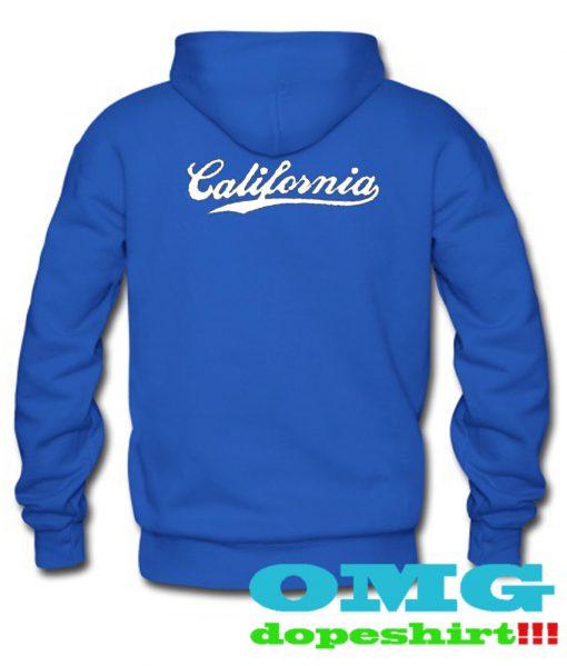California back hoodie