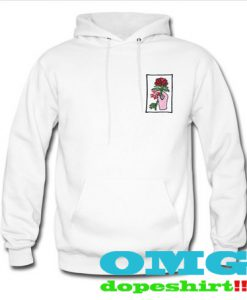 Okinawa Rose sweatshirt and hoodie