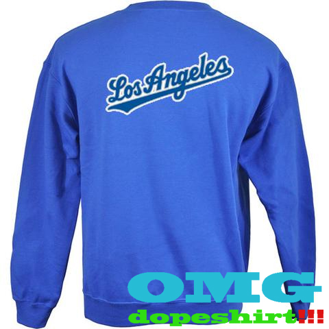 los angeles back sweatshirt