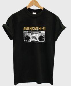 American Hi-Fi T-shirt
