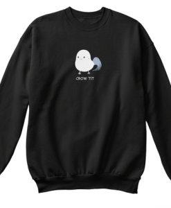 Korean Crow Tit Sweatshirt