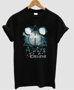 Always Believe Harry Potter Mickey Mouse T-shirt