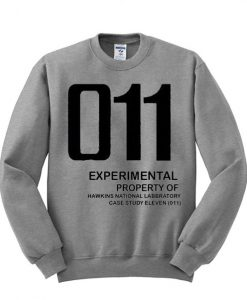Stranger Things 011 Sweatshirt