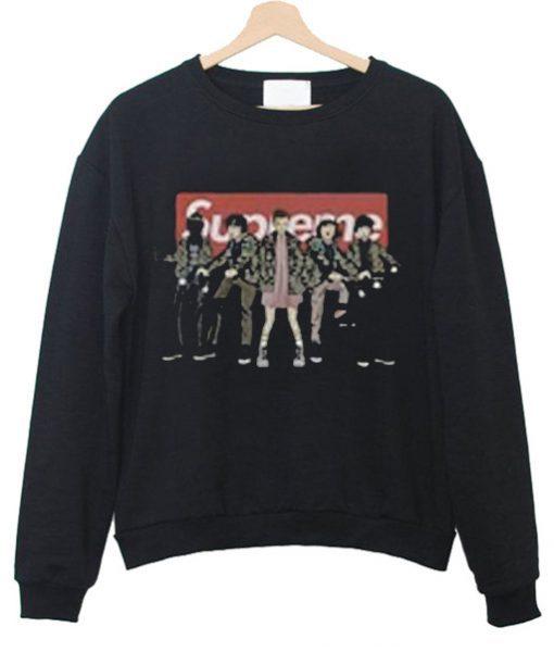 Supreme Stranger Things Sweatshirt