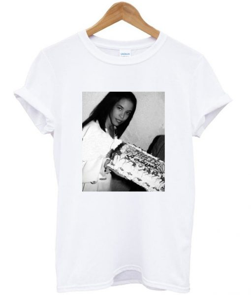 Aaliyah Birthday T-shirt