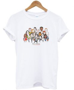 The Office Cast Cartoon T-shirt