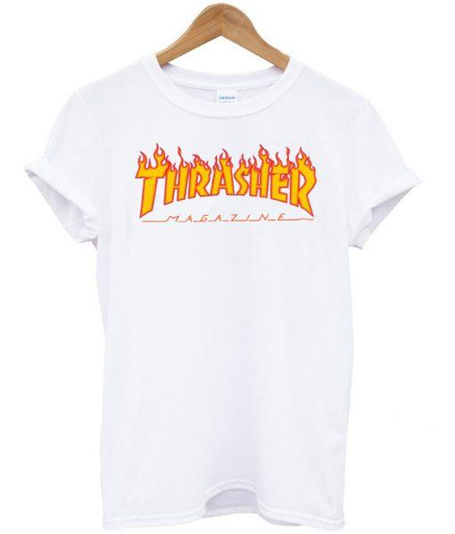 Thrasher Magazine Fire Tshirt