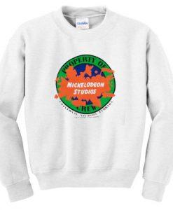 Property Of Crew Nickelodeon Studios Sweatshirt