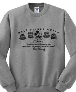Walt Disney World Mickey Mouse Sweatshirt