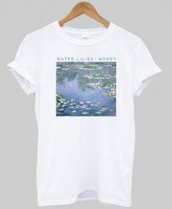 Water Lilies Monet Tshirt