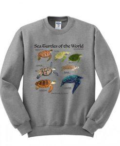 Sea Turtle of The World Sweatshirt