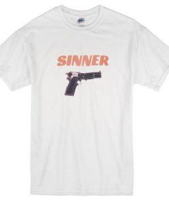 Sinner Gun Tshirt