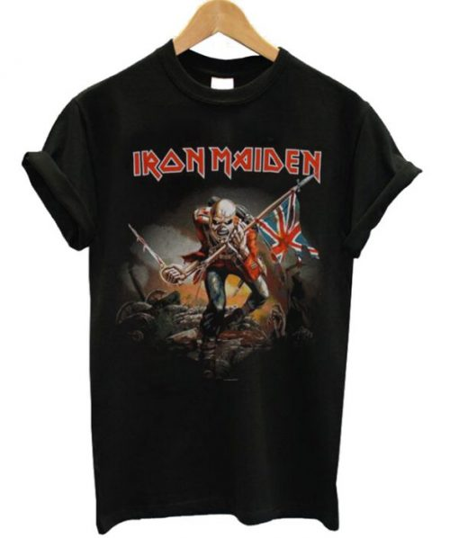 Iron Maiden Trooper British Unisex T-shirt