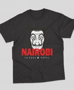 Nairobi Lacasa De Papel Money Heist T-shirt