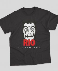 Rio Lacasa De Papel Money Heist T-shirt