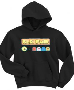 Black Pyramid Pac Man Hoodie