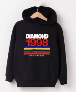 Diamond 1998 USA Skate Team Hoodie