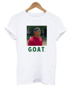 Tiger Woods Goat T-shirt