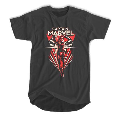 Avenger Endgame Captain Marvel T-shirt