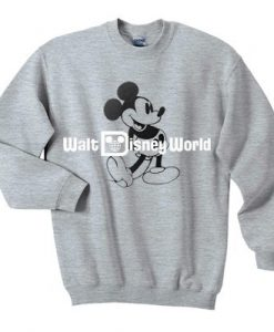 Mickey Mouse Walt Disney World Sweatshirt