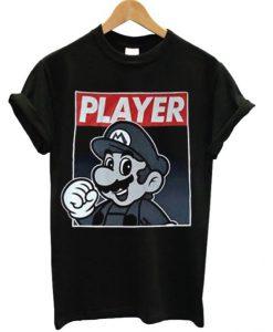 Super Mario Player T-shirt