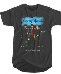 The Jonas Brothers World Tour 2009 T-shirt