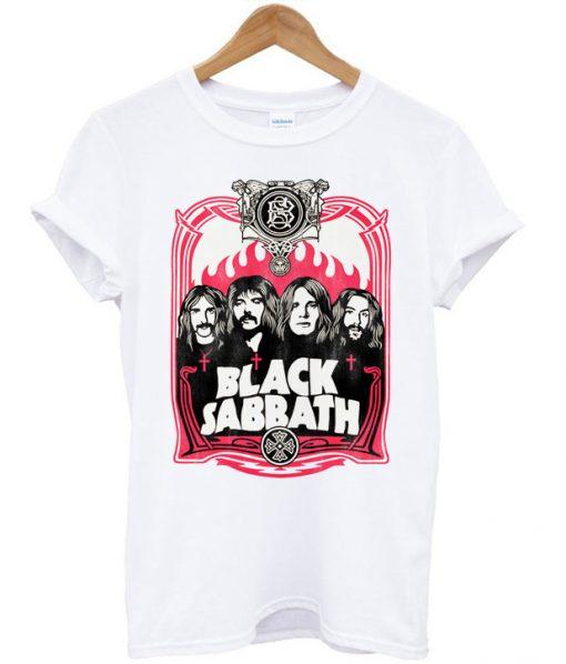 Black Sabbath Flame T-shirt