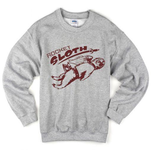 Rocket Sloth Sweatshirt