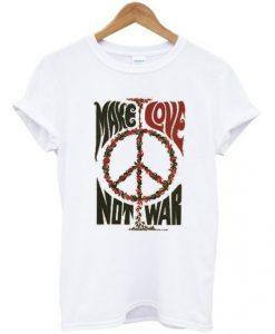 Make Love Not War Peace Vintage T-Shirt