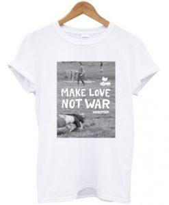 Make Love Not War Woodstock T-Shirt