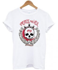 Pierce The Veil Skull T-Shirt