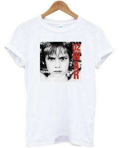 War U2 1983 T-shirt