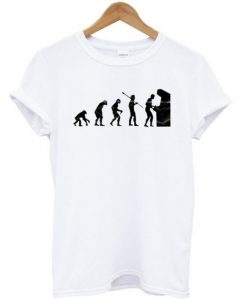 Arcade Gamer Evolution T-shirt
